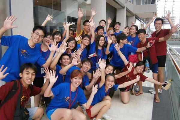 Group training events in Singapore.