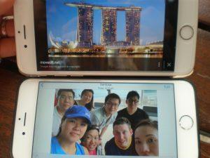 team selfie hunt