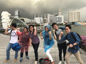 Exciting team activities in Singapore