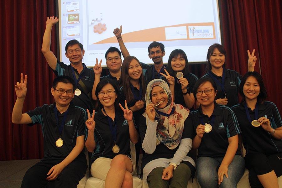 Singapore team building group